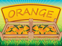 Embalaje anaranjado libre illustration