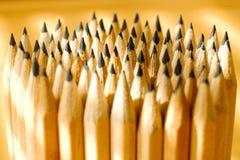 Embalaje de lápices simples fotos de archivo