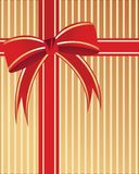 Embalaje de la Navidad stock de ilustración