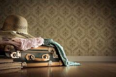 Embalaje de las vacaciones de verano Imagen de archivo libre de regalías