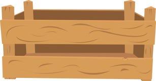 Embalaje de madera Fotografía de archivo libre de regalías