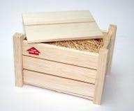 Embalaje de madera Imagen de archivo libre de regalías