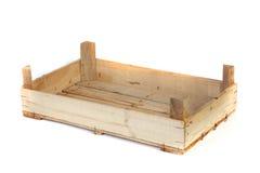 Embalaje de madera vacío Imagen de archivo libre de regalías
