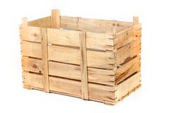 Embalaje de madera vacío Foto de archivo libre de regalías