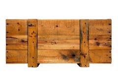 Embalaje de madera viejo foto de archivo libre de regalías