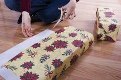 Embalaje de regalo Fotos de archivo libres de regalías