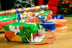 Embalaje del regalo Foto de archivo libre de regalías
