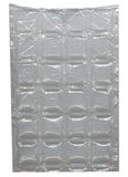 Embalaje plástico cuadrado Imagenes de archivo