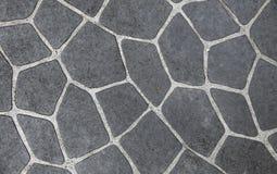 Embaldosado de piedra natural fotografía de archivo