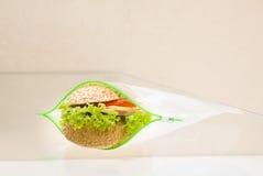 Embale um sanduíche Fotos de Stock