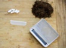 Emballage de cigarette Photos stock