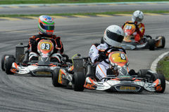 Emballage de Kart Photo libre de droits