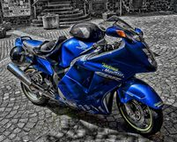 Emballage de la motocyclette photographie stock libre de droits