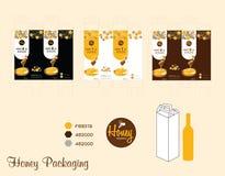 Emballage de miel Photo libre de droits