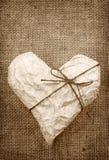 emballage de papier de coeur Image libre de droits