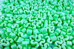 Emballage desserré de polystyrène Images libres de droits