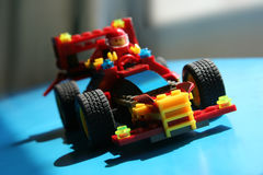 Emballage du véhicule de jouet photo stock