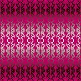 Emballage géométrique abstrait rouge sans couture de modèle de Bourgogne pour des chocolats illustration de vecteur