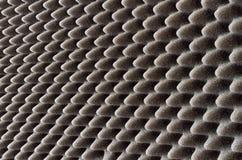 Emballage gris-foncé ou mousse acoustique Images stock