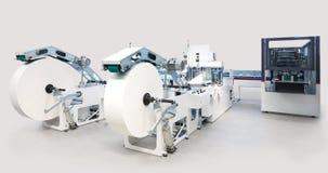 Emballage- och printingmaskiner Fotografering för Bildbyråer