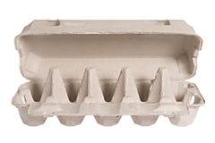 Emballage pour des oeufs Photo libre de droits