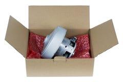 Emballage pour votre moteur électrique Photos stock
