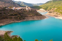 Embalse Arenos in Puebla de Arenoso Castellon Mijares Stock Photography