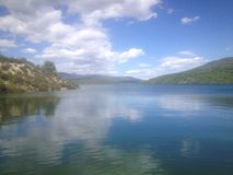 Embalse De Atazar Stockfoto
