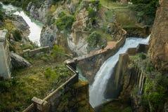 Embalse de Pena, Aragonien, Spanien Lizenzfreie Stockfotografie