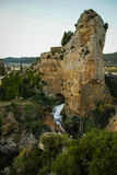 Embalse de Pena, Aragonien, Spanien Lizenzfreies Stockbild