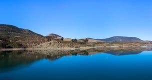 Embalse de Zahara lake, Grazalema national park, Spain Royalty Free Stock Photos