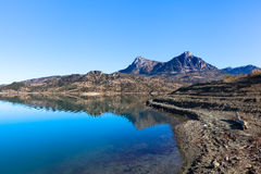 Embalse de Zahara lake, Grazalema national park, Spain Stock Images