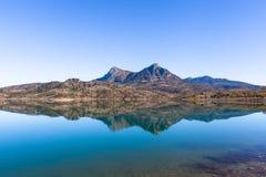 Embalse de Zahara lake, Grazalema national park, Spain Royalty Free Stock Photo