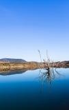 Embalse de Zahara lake, Grazalema national park, Spain Stock Photos
