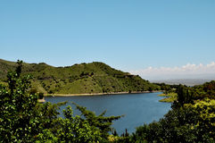 Embalse Dique los Molinos in Cordoba, Argentinien Stockfotos