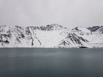 Cajon del Maipo, Chile. stock photo