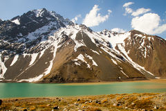 Embalse El Yeso Stock Images