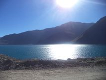 Embalse El Yeso royaltyfri bild