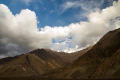 Embalse El Yeso reservoir, Chile Royalty Free Stock Images