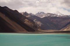 Embalse El Yeso reservoir, Chile Stock Image