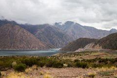 Embalse Potrerillos Andes Argentina Stock Photography