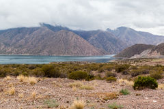 Embalse Potrerillos Andes Argentina Royalty Free Stock Image