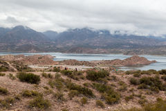 Embalse Potrerillos Andes Argentina Stock Images