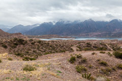 Embalse Potrerillos Andes Argentina Royalty Free Stock Photo