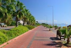 Embankment of Alanya. Turkey Royalty Free Stock Photos
