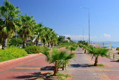 Embankment of Alanya. Turkey Royalty Free Stock Image