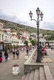 Embankment Of Balaklava stock photo