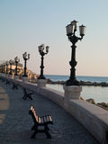 Embankment in Bari Royalty Free Stock Photo