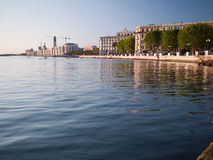 Embankment in Bari Italy Stock Photo