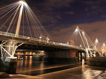 Embankment bridge (London) Stock Photo